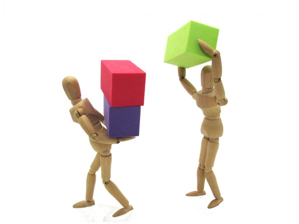 リーダーの負担を軽減する幹部スタッフ